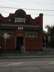 Sutton Gallery in Melbourne